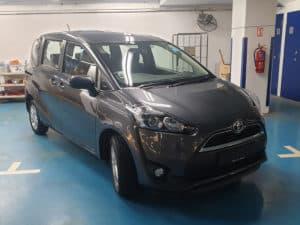 Toyota Sienta Grey 1